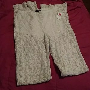 Kendall and Kylie lace pants